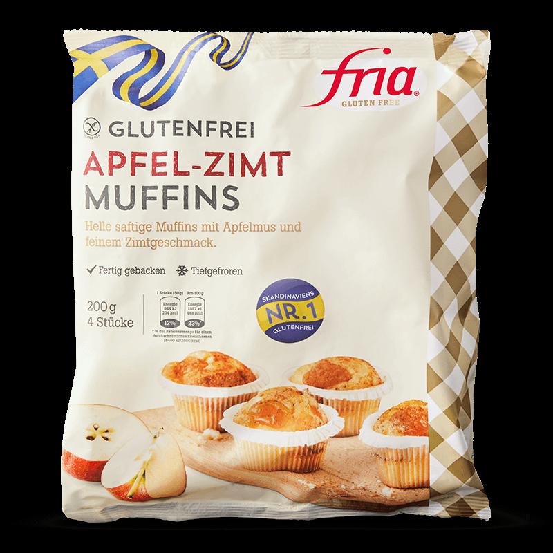 Leckere Glutenfreie Apfel Zimt Muffins Aus Schweden Fria
