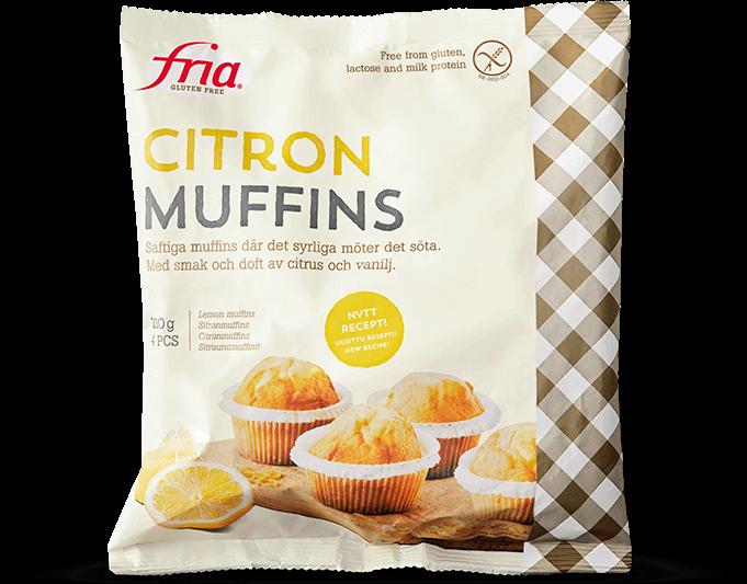 Fria Citronmuffins