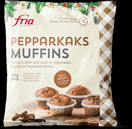 Fria Pepparkaksmuffins